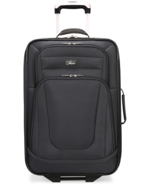 """Skyway Epic 21"""" Expandable Two-Wheel Carry-On Suitcase"""