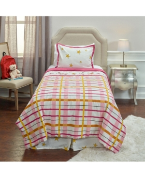 Riztex Usa Punk Rock Animal Plaid Twin 2 Piece Comforter Set Bedding