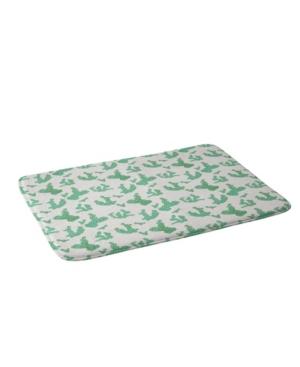 Deny Designs Holli Zollinger French Linen Sedona Cactus Bath Mat Bedding