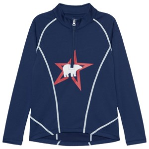 Perfect Moment Perfect Moment Navy Polar Bear Baselayer Top 14 years