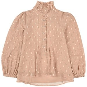 How To Kiss A Frog Beige Dot Cindy Blouse 4 Years