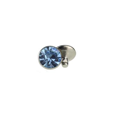 IVAN 6mm淡藍色壓克力水鑽撞釘1356-02