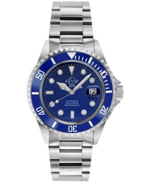 Gevril Men's Liguria Swiss Automatic Stainless Steel Bracelet Watch 42mm