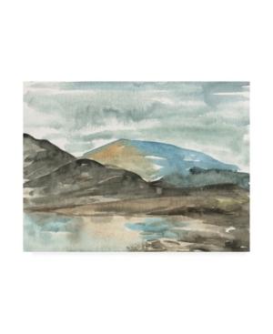 """Melissa Wang Watercolor Views Vii Canvas Art - 27"""" x 33.5"""""""