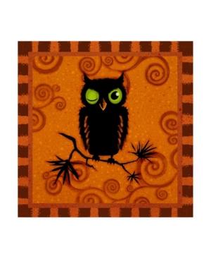 "Viv Eisner Spooktacular Orange I Canvas Art - 15.5"" x 21"""