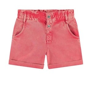 Pepe Jeans Red Gigi Denim Shorts 14 Years