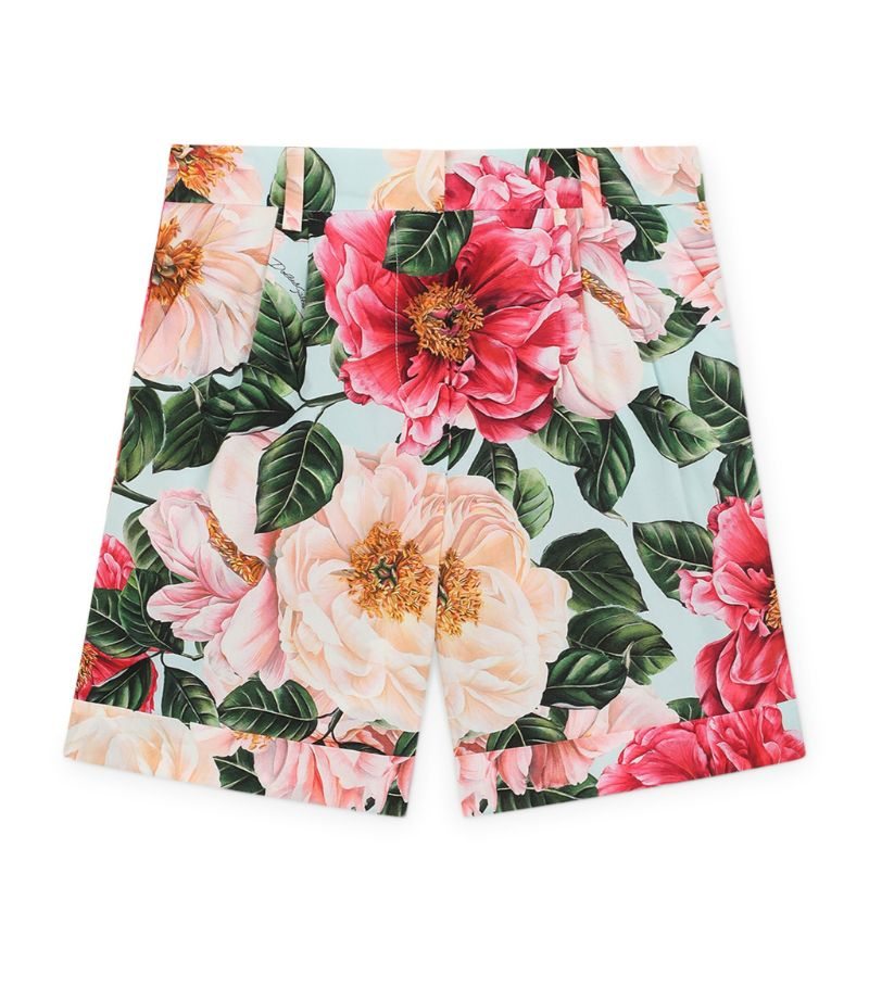 Dolce & Gabbana Kids Floral Shorts (2-6 Years)