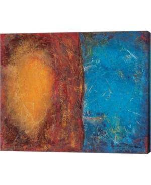 "Metaverse Steeplechase Park by Britt Hallowell Canvas Art, 28.75"" x 24"""
