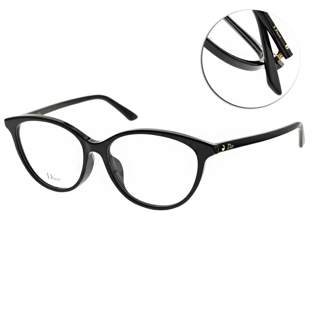 DIOR 光學眼鏡 經典蒙田系列 圓框款(黑) #MONTAIGNE54F 807