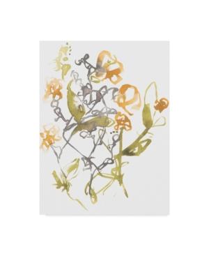 """Jennifer Goldberger Yellow & Grey Array I Canvas Art - 20"""" x 25"""""""