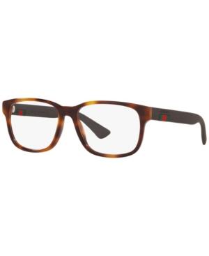 Gucci Gc001085 Men's Rectangle Eyeglasses