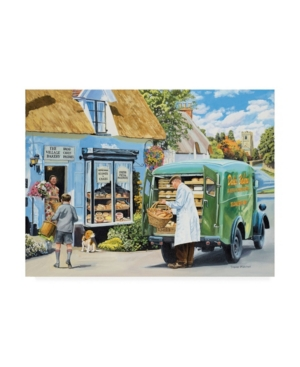 """Trevor Mitchell The Village Bakery Canvas Art - 19.5"""" x 26"""""""