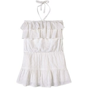 How To Kiss A Frog White Lace Ruffle Whipp Dress 6 Years