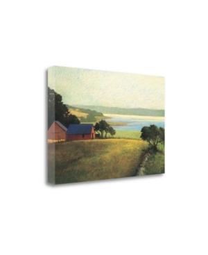 Tangletown Fine Art Salt Water Farm by Sandy Wadlington Fine Art Giclee Print on Gallery Wrap Canvas
