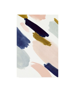 "Victoria Borges Brush marks Ii Canvas Art - 27"" x 33.5"""