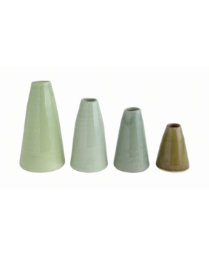 Terra Cotta Vases, Set of 4
