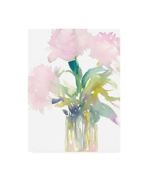 "Samuel Dixon Pink Flowers in Vase Canvas Art - 27"" x 33.5"""