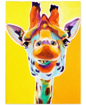 "DawgArt 'Giraffe No. 3' Canvas Art - 18"" x 24"" x 2"""