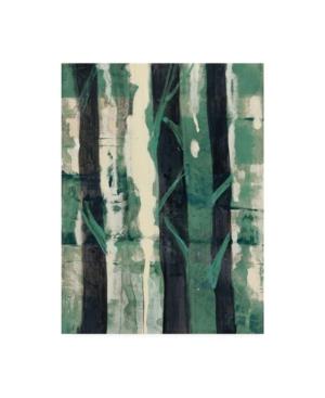 "Albena Hristova Deep Woods I Emerald Crop Canvas Art - 37"" x 49"""