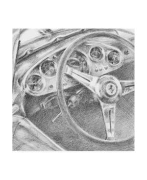 "Ethan Harper Behind the Wheel I Canvas Art - 15"" x 20"""