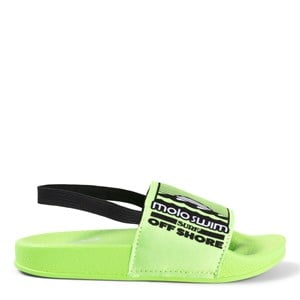 Molo Molo Scuba Green Zhappy Slide Sandals 25-26 EU