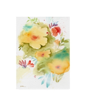 "Sheila Golde Fiesta Flowers Canvas Art - 15.5"" x 21"""