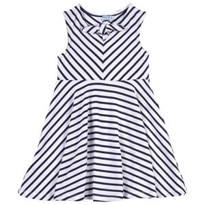 Mayoral Navy Striped Dress 3 years