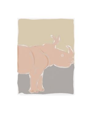 "Rob Delamater Pastel Zoo I Canvas Art - 15.5"" x 21"""