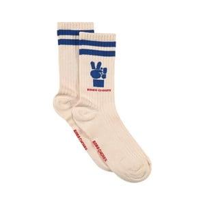 Bobo Choses Bobo Choses Cream Victory Socks 29-31 (5-6 Years)