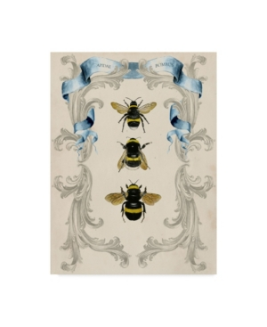"Naomi Mccavitt Bees and Filigree I Canvas Art - 20"" x 25"""