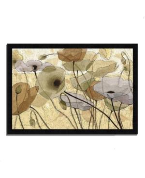 "Tangletown Fine Art Fluidity Iv by Shirley Novak Framed Painting Print, 33"" x 23"""