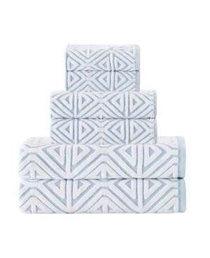 Enchante Home Glamour 6-Pc. Turkish Cotton Towel Set Bedding