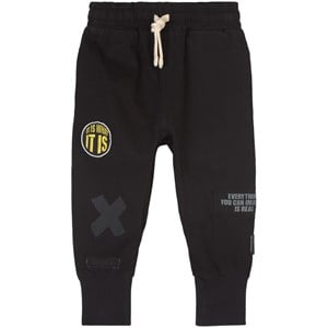 NUNUNU NUNUNU Black Inspiration Sweatpants 18-24 Months