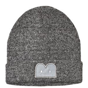 The BRAND The BRAND Grey Knitted Hat with Faux Fur Tail 80/86 cm