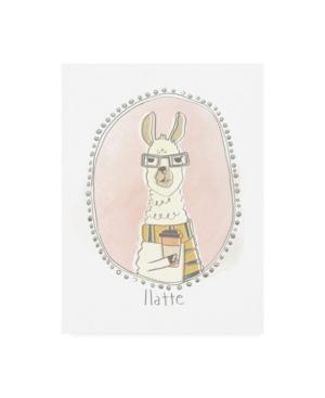 "June Erica Vess Caffeinated Cutie Ii Canvas Art - 15"" x 20"""