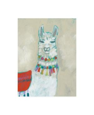 "Jennifer Goldberger Llama Fun I Canvas Art - 27"" x 33.5"""