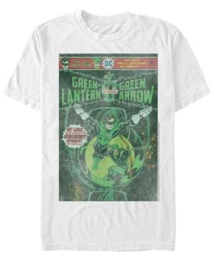 Fifth Sun Dc Men's Green Lantern Starring Green Arrow Comic Cover Short Sleeve T-Shirt