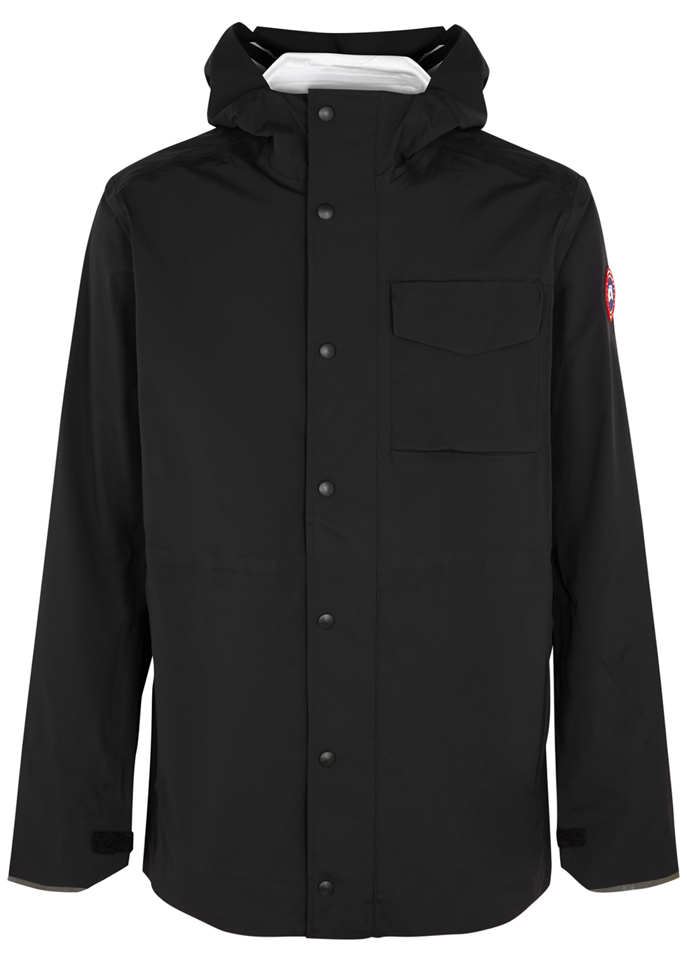 Nanaimo black Tri-Durance shell jacket