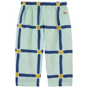 Bobo Choses Bobo Choses Green Cube Woven Trousers 12-18 Months