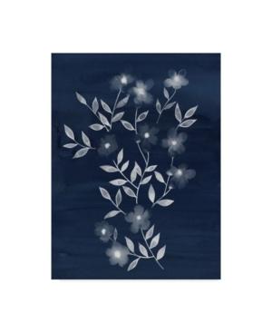 """Grace Popp Flower Cyanotype I Canvas Art - 15"""" x 20"""""""