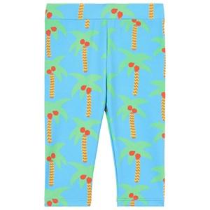 Stella McCartney Kids Stella McCartney Kids Blue Palm Trees Rash Leggings 12 months