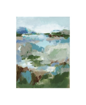 "Christina Long Long Road Home Ii Canvas Art - 15.5"" x 21"""