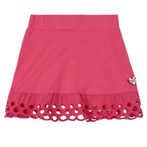 Agatha Ruiz de la Prada Agatha Ruiz de la Prada Fuchsia Embroidered Hem Skirt 5 years