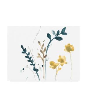 "June Erica Vess Navy Garden Inspiration Vi Canvas Art - 15"" x 20"""