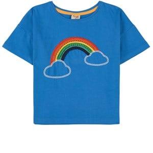 Frugi Blue Myla T-Shirt 9-10 years