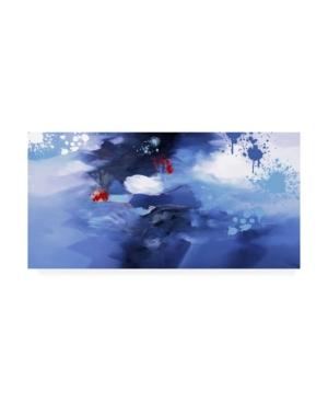 """Zavaleata Infinite Clouds Canvas Art - 27"""" x 33.5"""""""