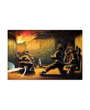 "Paul Walsh Devils Doorway Ii Canvas Art - 15.5"" x 21"""
