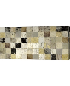 """Metaverse African Mosaic I by Edward Selkirk Canvas Art, 32"""" x 16"""""""