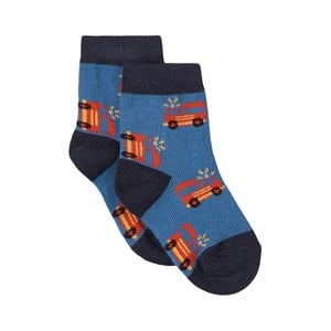 Melton Melton Delta Blue Jackson Socks 17-19 (6-9 Months)