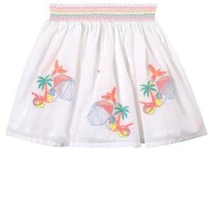 Billieblush Billieblush White Embroidered Skirt 5 years